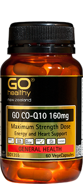 GO HEALTHY GO CO-Q10 160MG 60 VEGECAPS
