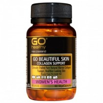GO HEALTHY GO BEAUTIFUL SKIN COLLAGEN SUPPORT 120 VegeCaps