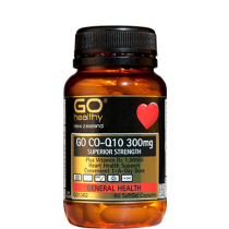 GO HEALTHY GO CO-Q10 300MG 60 SOFTGEL CAPSULES
