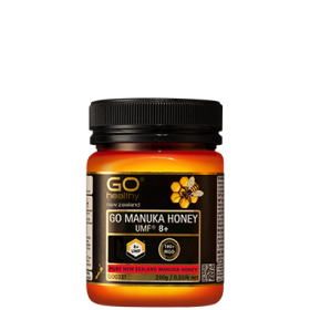 Go Healthy MANUKA  HONEY UMF 8+ (MGO 180+) 500GM