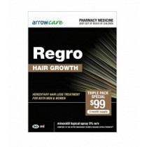 REGRO SPRAY TRIPLE PACK 3 MONTHS SUPPLY