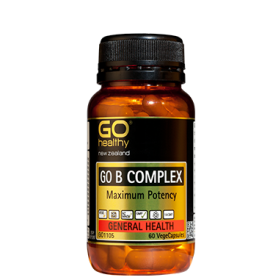 Go Healthy B Complex 30 vegecaps