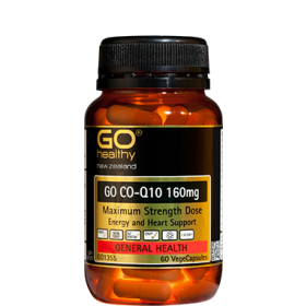 GO HEALTHY GO CO-Q10 160MG 30 VEGECAPS